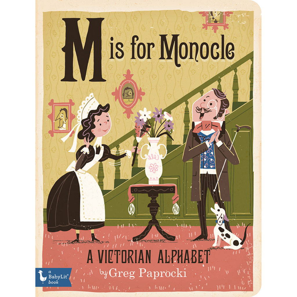 BABYLIT BabyLit M is for Monocle