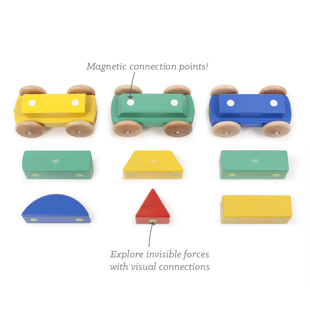 TEGU Tegu Magnetic Shape Train: Big Top