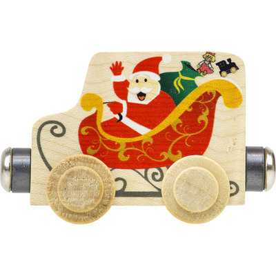 MAPLE LANDMARK Maple Landmark Name Train Santa Sleigh Car