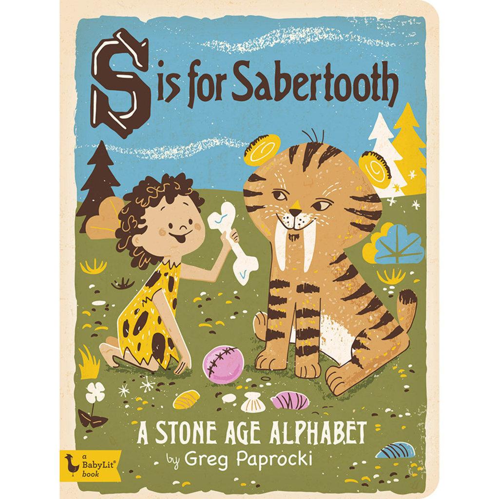 BABYLIT BabyLit S is for Sabertooth
