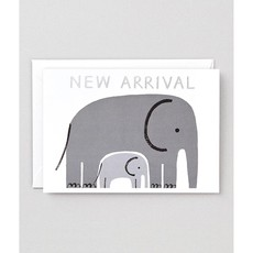 WRAP 'New Arrival' Foiled Greeting Card