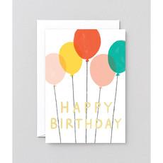 WRAP 'Happy Birthday Balloons' Greeting Card