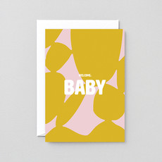 WRAP 'Welcome Baby' Greeting Card