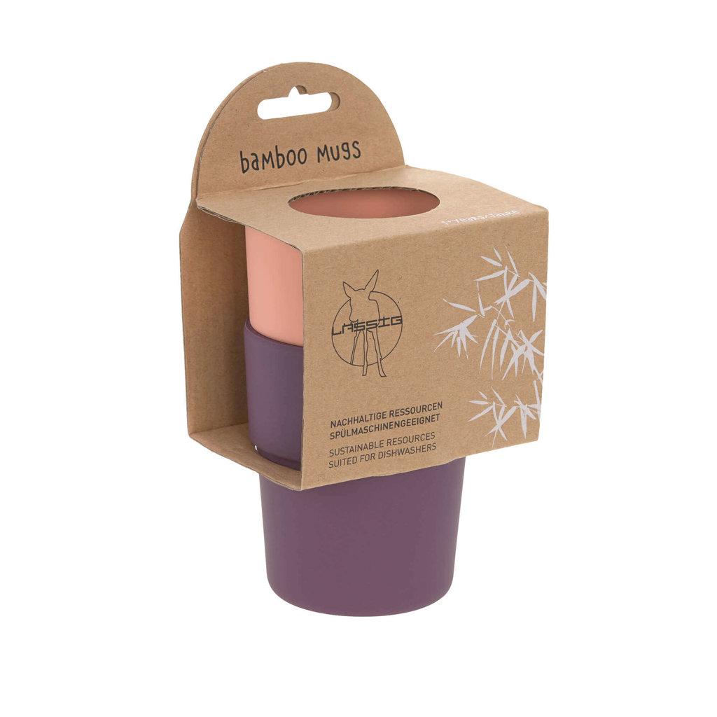 LASSIG Lassig Bamboo Mug Set 2pc