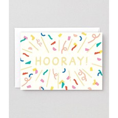 WRAP 'Hooray' Burst Greeting Card
