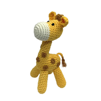 CHEENGOO Cheengoo Standing Giraffe Soft Rattle