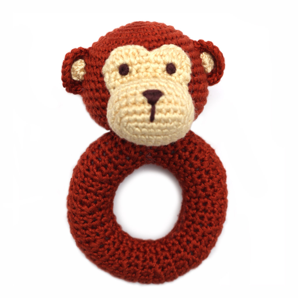CHEENGOO Cheengoo Monkey Ring Rattle