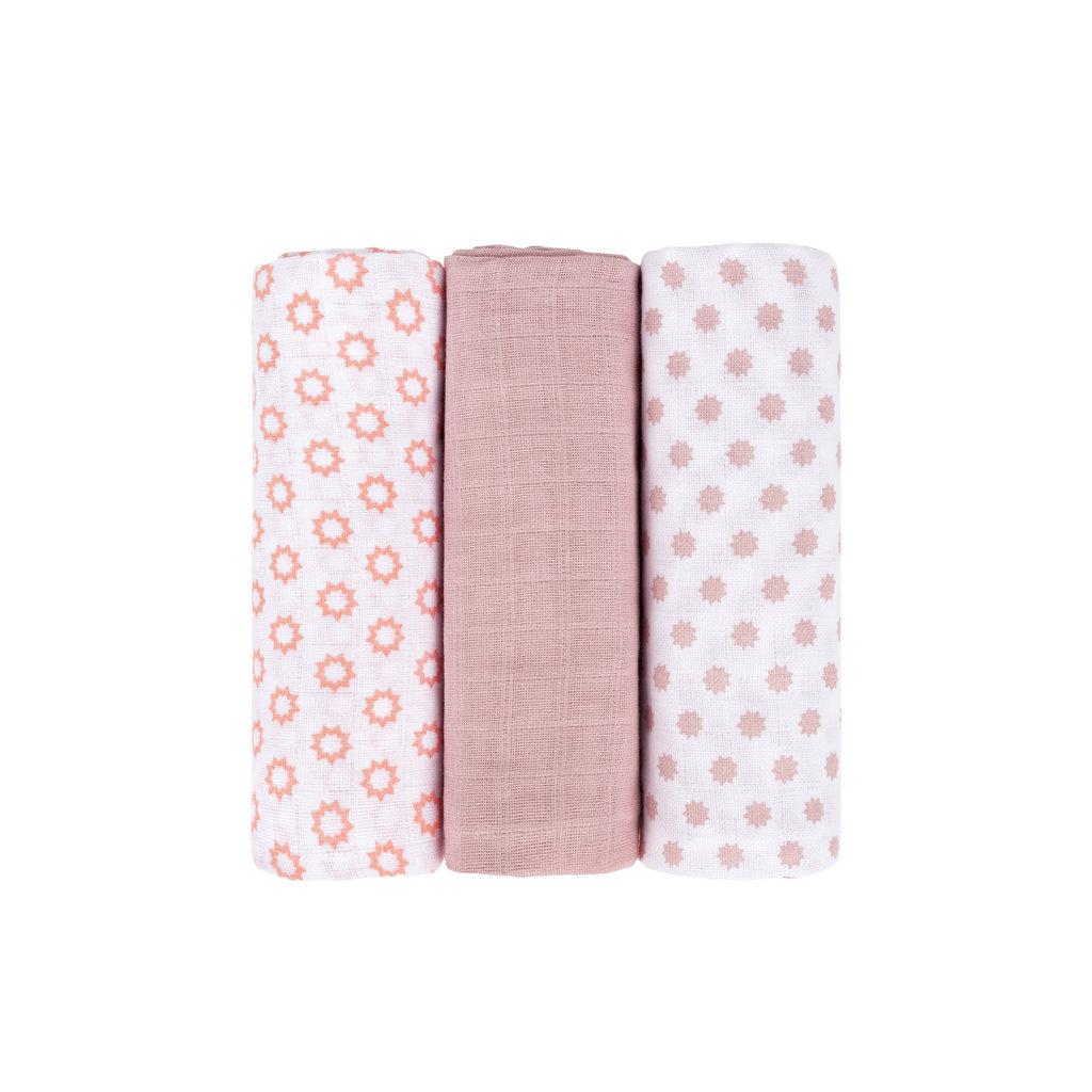 LASSIG Lassig Muslin Swaddle & Burp Blanket