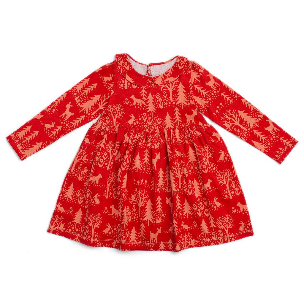 WINTER WATER FACTORY Winter Water Factory Nashville Dress - Cranberry