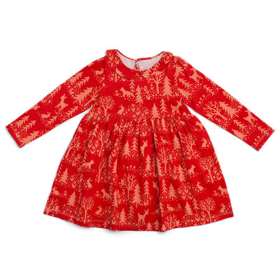 WINTER WATER FACTORY Winter Water Factory Nashville Dress - Cranberry