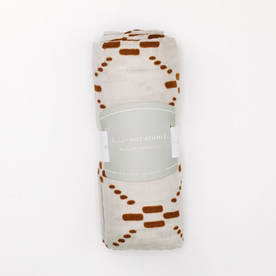 SARANONI Saranoni Bamboo Muslin AJJ Collection Blanket