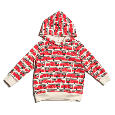 WINTER WATER FACTORY Winter Water Factory Hoodie - Firetrucks Red