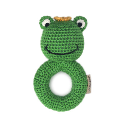 CHEENGOO Cheengoo Frog Ring Rattle