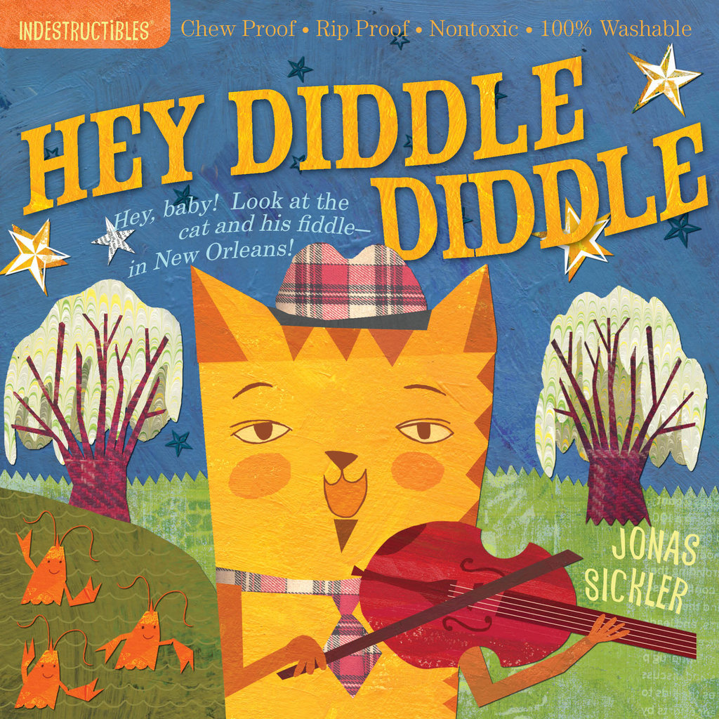 WORKMAN PUBLISHING Indestructibles Book: Nursery Rhymes