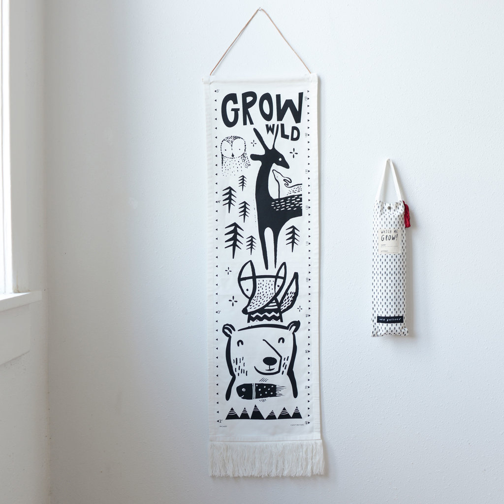 WEE GALLERY Wee Gallery Canvas Growth Chart