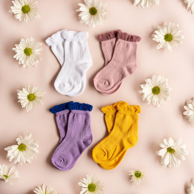 THE LITTLE STOCKING CO Little Stocking Co Anklet Sock Bundle 6-18 mo.