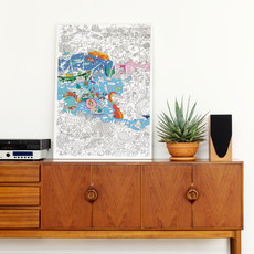 OMY OMY Giant Coloring Poster
