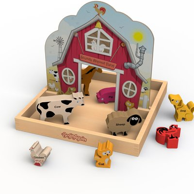 BEGIN AGAIN TOYS BeginAgain Sounds Around the Farm Story Box
