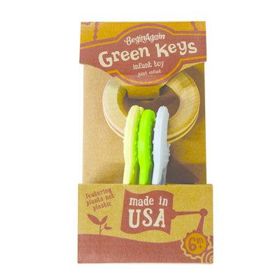 BEGIN AGAIN TOYS BeginAgain Green Keys