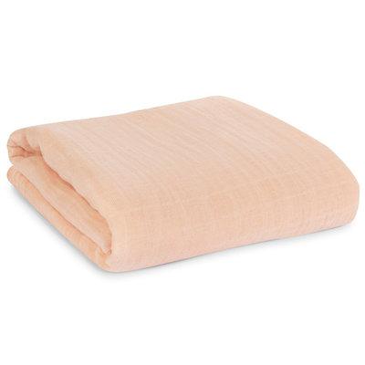MODERN BURLAP Modern Burlap Organic Cotton Muslin Swaddle - Dusty Pink