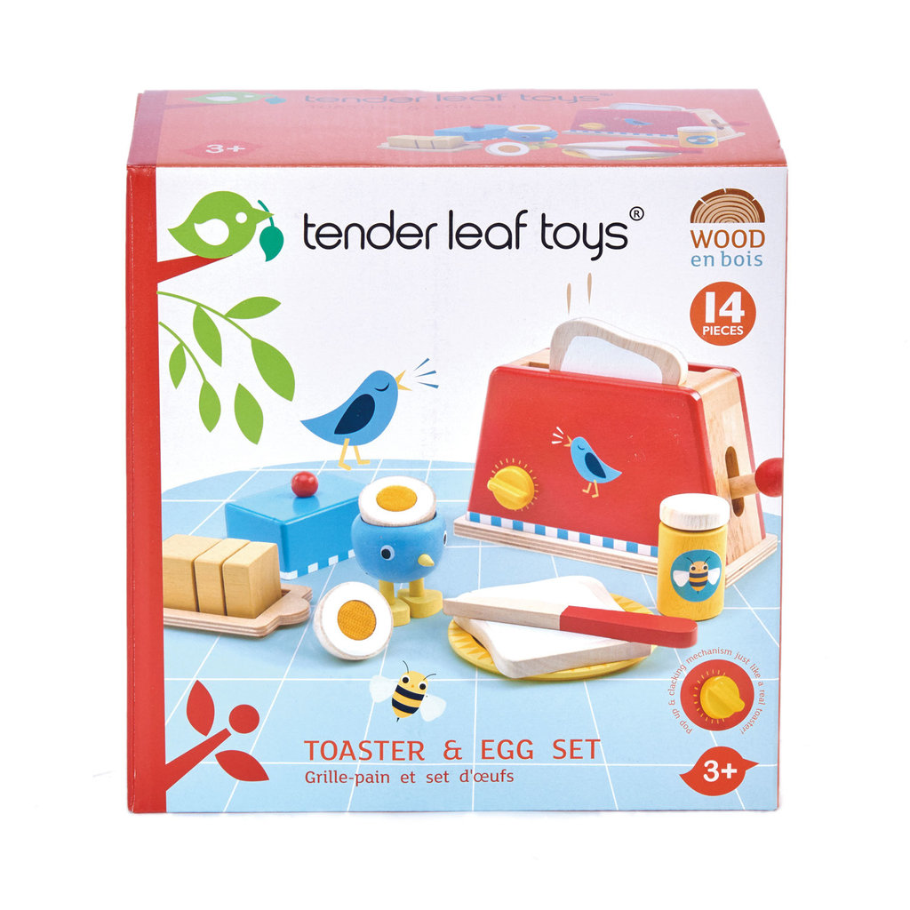 TENDER LEAF TOYS Tender Leaf Toaster & Egg Set
