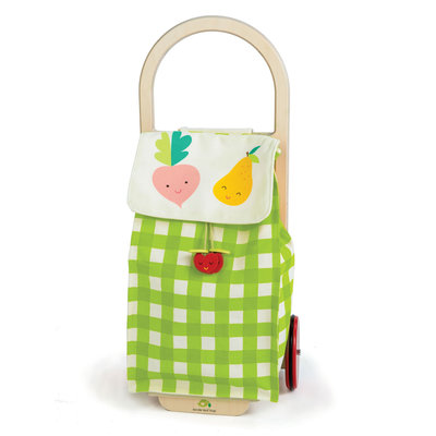 TENDER LEAF TOYS Tender Leaf Pull Along Shopping Trolley