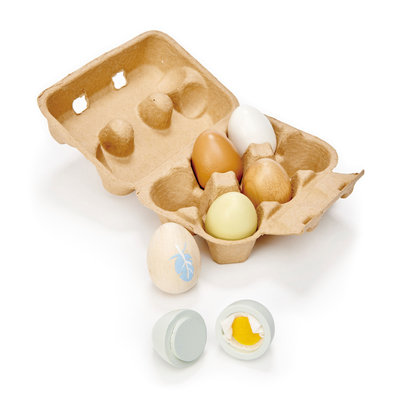 TENDER LEAF TOYS Tender Leaf Wooden Eggs