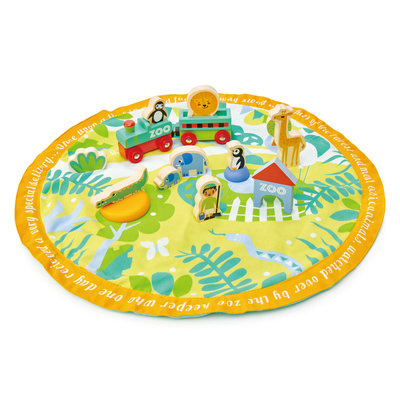 TENDER LEAF TOYS Tender Leaf Safari Park Story Bag