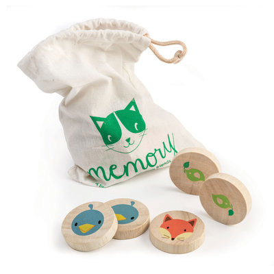 TENDER LEAF TOYS Tender Leaf Clever Cat Memory Game