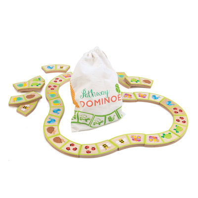 TENDER LEAF TOYS Tender Leaf Pathways Domino Game