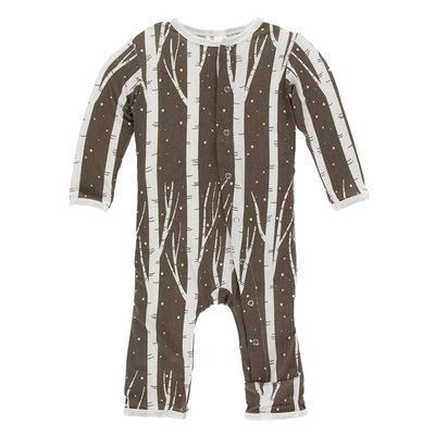 KICKEE PANTS Kickee Pants Falcon Snow Coverall with Zipper