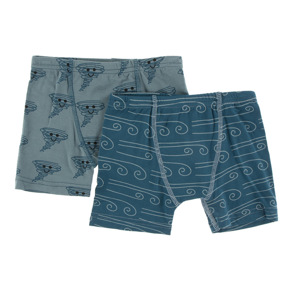 KICKEE PANTS Kickee Pants Boxer Briefs Set