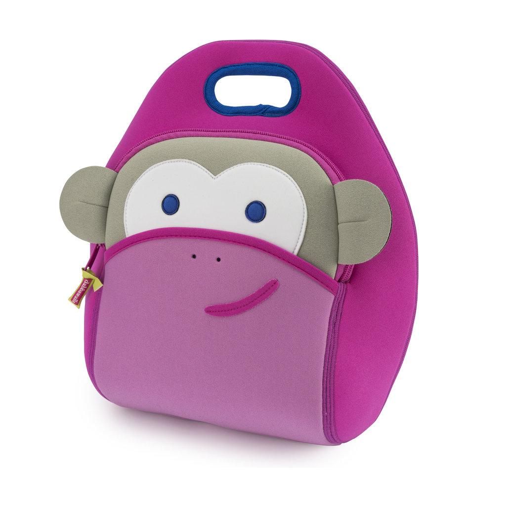 Dabbawalla Bags Blushing Pink Monkey Lunch Bag