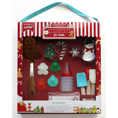 HANDSTAND KITCHEN Handstand Kitchen Cookies for Santa Baking Set