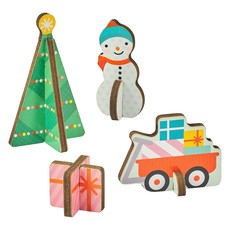 PETIT COLLAGE Petit Collage Christmas Advent Calendar