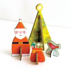 PETIT COLLAGE Petite Collage Tree Pop-Out Advent Calendar
