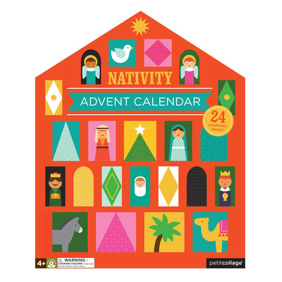 PETIT COLLAGE Petite Collage Nativity Pop-Out Advent Calendar
