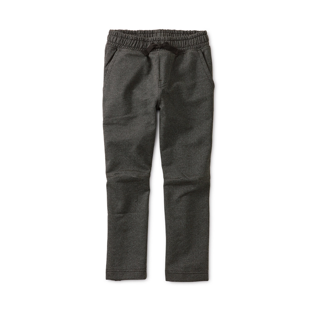 TEA COLLECTION Tea Trek Pant - Midnight Herringbone