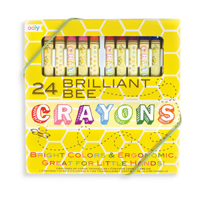 OOLY OOLY Brilliant Bee Crayons