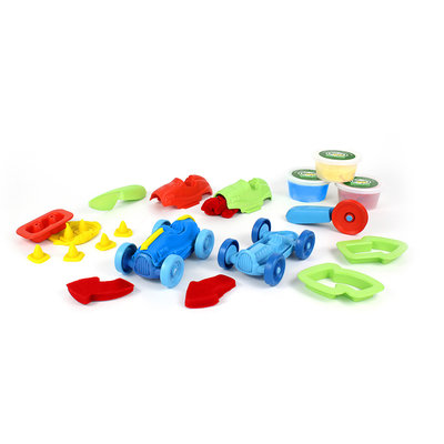 GREEN TOYS Green Toys Race Car Maker Dough Set