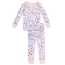 ZUTANO Zutano Paint Splatter Organic Cotton PJ Set