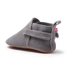 ZUTANO Zutano Gray Suede Baby Shoe