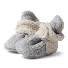 ZUTANO Zutano Fleece Furry Lined Booties