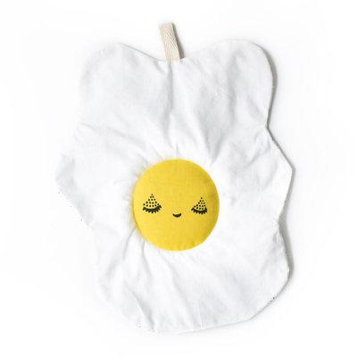 WEE GALLERY Wee Gallery Organic Crinkle Toy- Egg
