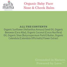 EARTH MAMA ORGANICS Earth Mama Organics Baby Face Nose & Cheek Balm Travel Size