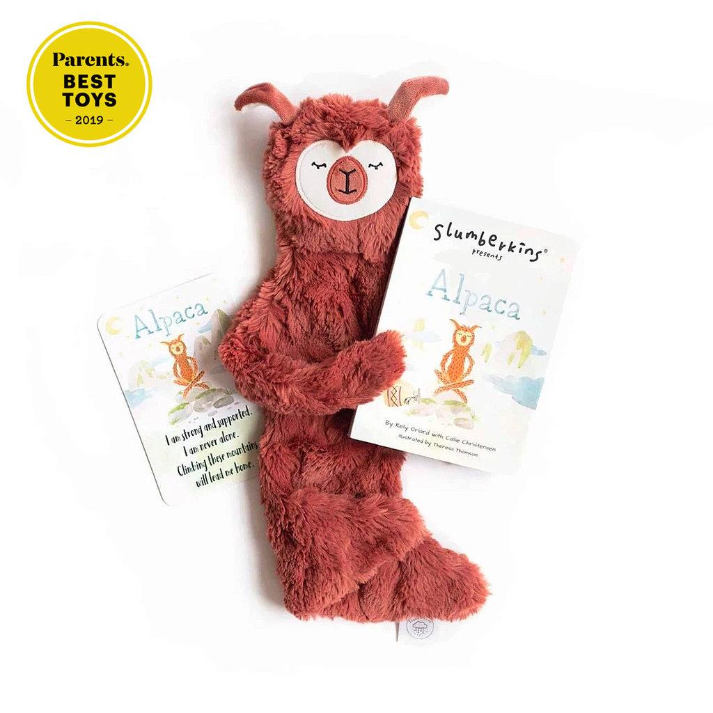 SLUMBERKINS Slumberkins Alpaca Snuggler Bundle