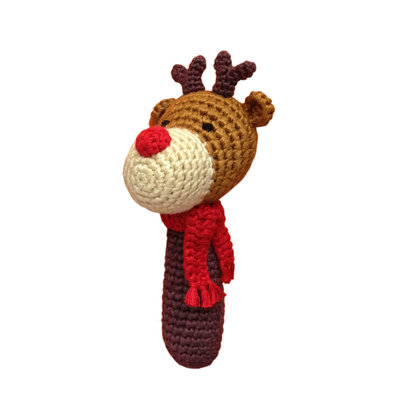 CHEENGOO Cheengoo Reindeer Rattle