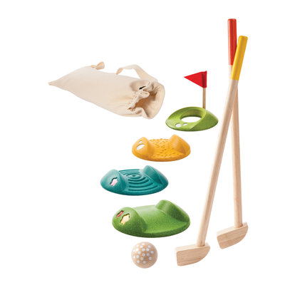 PLAN TOYS Plan Toys Mini Golf Set