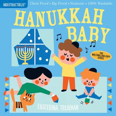 WORKMAN PUBLISHING Indestructibles Book Hanukkah Baby