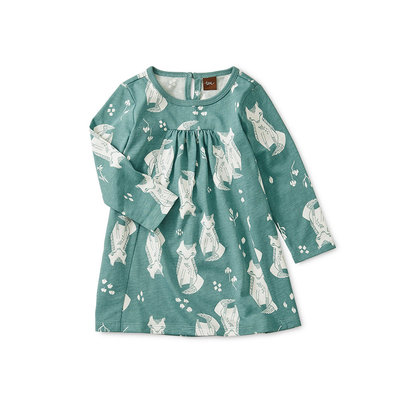 TEA COLLECTION Tea Pleated Baby Dress